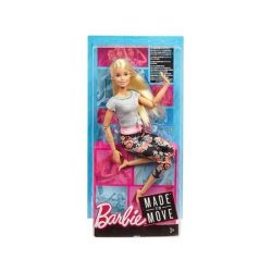 Barbie - hajlékony jógababa szőke