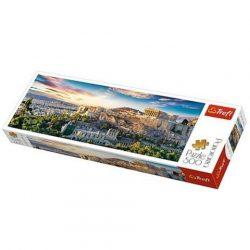 Akropolisz, Athén Panoráma puzzle 500db-os - Trefl
