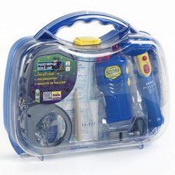 Rendőrös szett műanyag kofferban - Klein Toys
