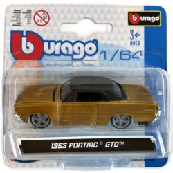 Bburago: 1965 Pontiac GTO fém kisautó 1/64