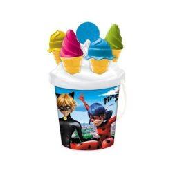 Miraculous fagyis homokozó készlet - Mondo Toys