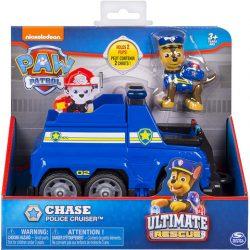 Mancs őrjárat Chase és a rendőrautója
