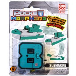 Pocket Morphers II. 8 Submarine átalakítható figura