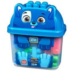 Mattel: MB Boldog kiskutyus építőszett vödörben