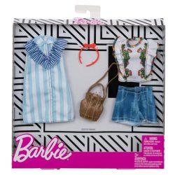 Barbie dupla ruhaszett kiegészítővel FXJ63