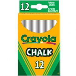 Táblakréta 12 db-os fehér - Crayola