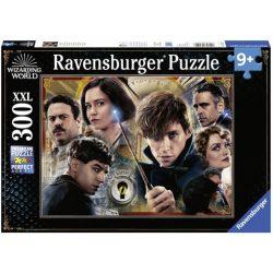 Puzzle 300 db-os XXL Ravensburger - Legendás állatok és megfigyelésük