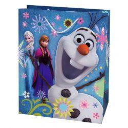Exkluzív Disney Jégvarázs közepes ajándéktáska 18x23x10cm