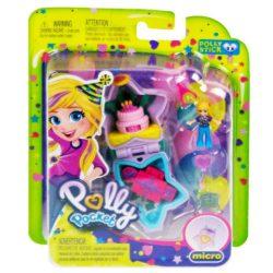 Polly Pocket: Születésnapi játékszett kiegészítőkkel