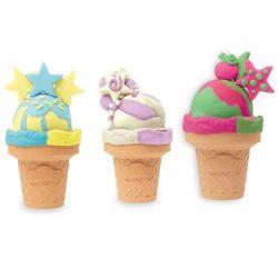 Play-Doh: Fagylalt gyurmaszett három változatban