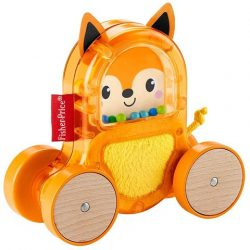 Mattel: Fisher Price Változatos anyagok gurulós állat GLD01