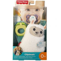 Fisher Price Clipimals plüss cumitartó