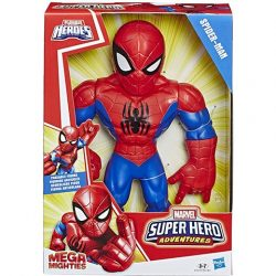 Super Hero Adventures: Mega pókember akciófigura - Hasbro