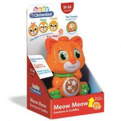 Baby interaktív cica érzelmekkel, fénnyel és hanggal - Clementoni