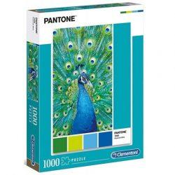 Pantone Türkiz páva puzzle 1000db-os - Clementoni