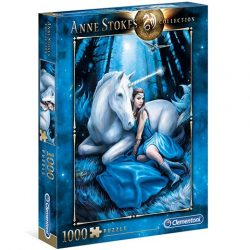 Anne Stokes: Kék hold 1000db-os puzzle - Clementoni