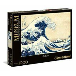 Museum Collection: Kacusika Hokuszai - A nagy hullám 1000 db-os puzzle - Clementoni