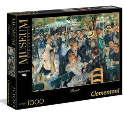 Puzzle:  Múzeum: Renoir Bál a Moulin de la Galette-ben (festmény) -1000 HQC - Clementoni