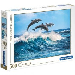 Delfinek HQC 500db-os puzzle - Clementoni