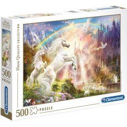 Unikornisok a naplementében HQC 500db-os puzzle - Clementoni