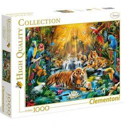 Rejtélyes tigrisek HQC 1000db-os puzzle - Clementoni