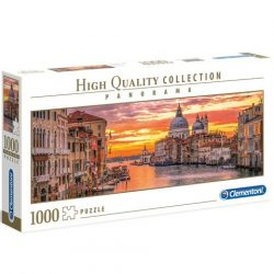 Puzzle: Panoráma Puzzle Velence Grand -1000 HQC -  Clementoni
