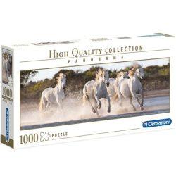Vágtázó lovak HQC 1000db-os Panoráma puzzle - Clementoni