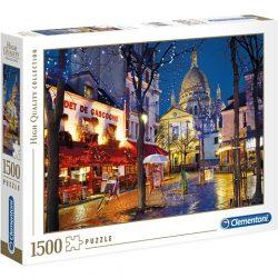 Montmartre - Párizs HQC 1500db-os puzzle - Clementoni