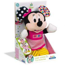 Minnie egér bébi plüss - Clementoni