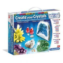 Clementoni: Science & Play - Alkoss kristályokat tudományos játékszett