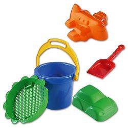 Kisméretű homokozó szett 5 részes- D-Toys