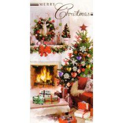 Üdvözlőkártya-Békés Karácsony/Simon Elvin Xmas Cards