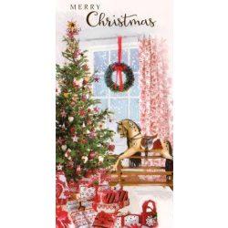 Üdvözlőkártya- Karácsonyi ajándékok/Simon Elvin Xmas Cards