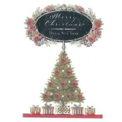 Üdvözlőkártya-Kellemes Karácsonyt és Boldog Új évet!/Xmas Minicards Classic