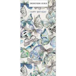Üdvözlőkártya-Pillangók-Paper Rose/Designers Guild