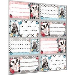 Füzetcímke íves Pet Mix Lizzy Card