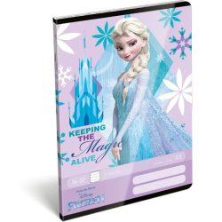 Füzet tűzött A/5 2.o. Frozen Castle Lizzy Card