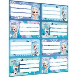 Füzetcímke íves Frozen Mix Lizzy Card