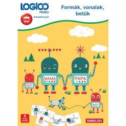 Formák, vonalak, betűk  LOGICO Primo