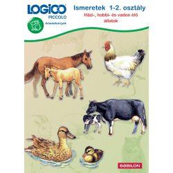 Ismeretek 1-2. osztály: Házi-, hobbi- és vadon élő állatok LOGICO Piccolo