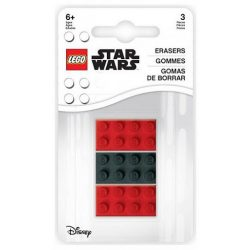 LEGO® 52215 - LEGO alakú radír 3 db