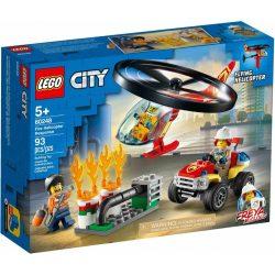 LEGO® City Fire Sürgősségi tűzoltó helikopter 60248