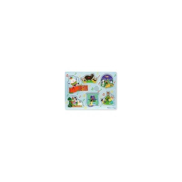 Hangot adó puzzle-Mondókák