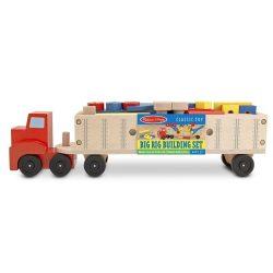 Melissa & Doug Fa  kamion szerelőautó