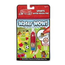 Melissa & Doug Kreatív játék, Rajzolás vízzel, sport