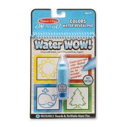 Melissa & Doug Kreatív játék, Rajzolás vízzel, színek és formák