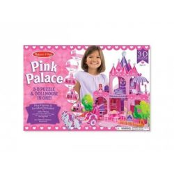 M&D, 3D PUZZLE, PINK PALOTA