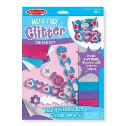 M&D Kreatív játék, Glitter habszivacs karkötő készítő