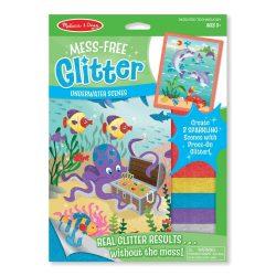 M&Doug Kreatív játék, Glitter képkészítő, tenger