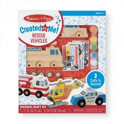 Melissa & Doug Kreatív Játék, Vészhelyzet járművei